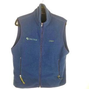 Patagonia Men's Synchilla Blue fleece vest Size M